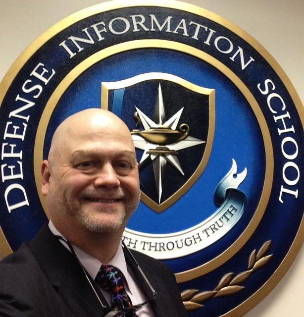 Helio Fred Garcia at US Defense Information School