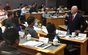Teaching at Peking University Executive Education, for the China Bankers Association