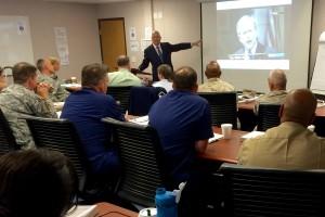 Teaching at US Defense Information School