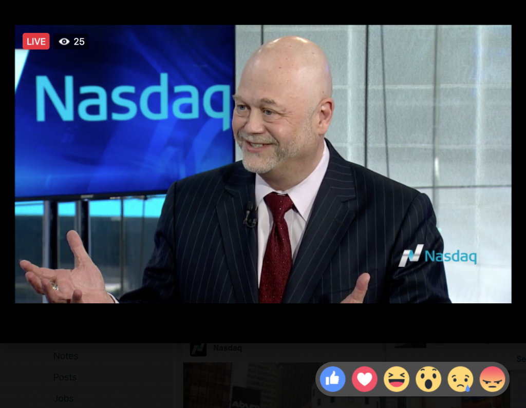 Nasdaq Facebook Live: Helio Fred Garcia Discusses Communication, Leadership, and Reputation