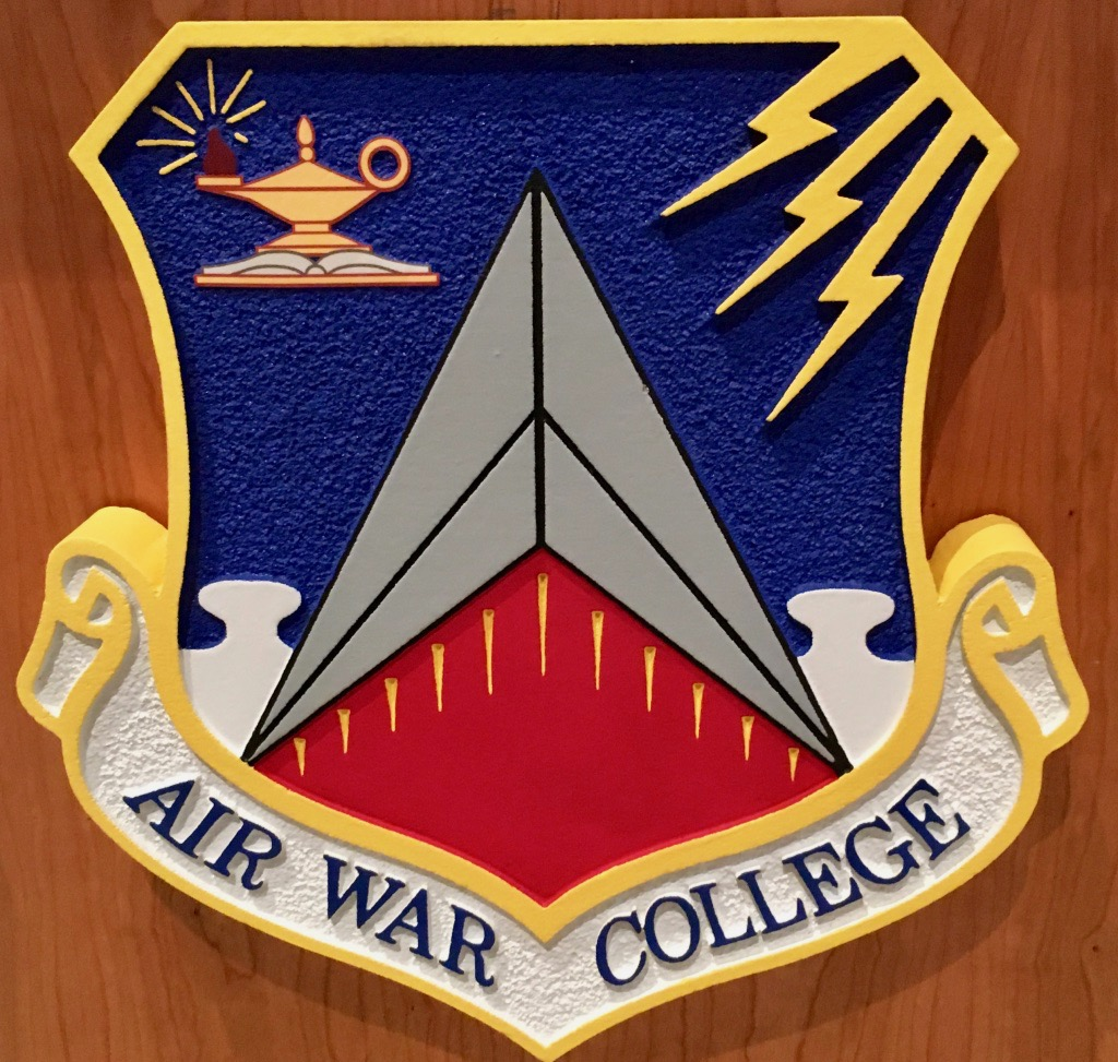 Logos President Guest Lectures at Air War College