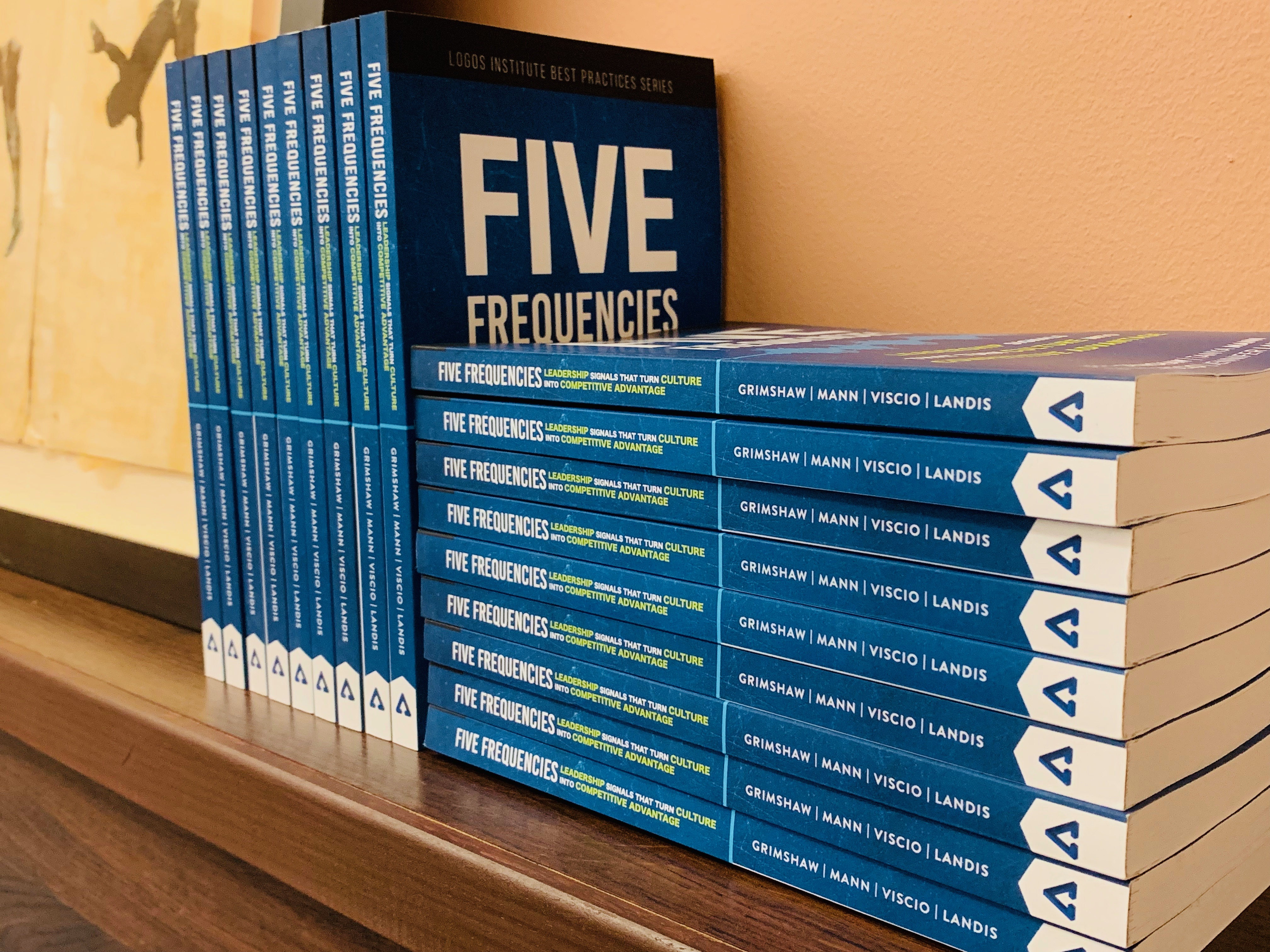 Logos Institute Press celebrates the launch of its latest book, Five Frequencies