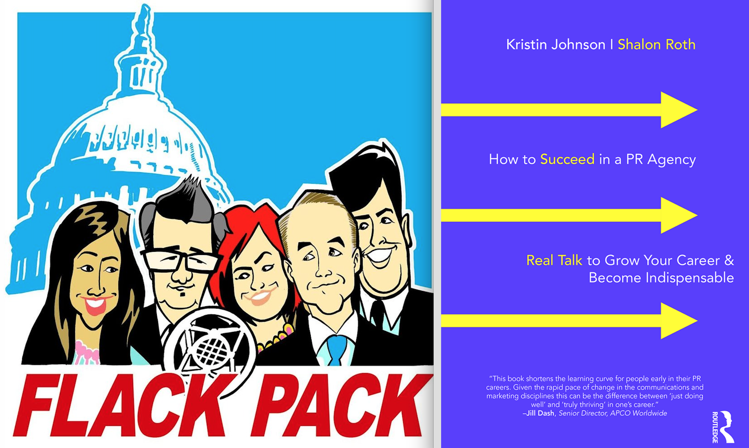 Kristin Johnson Featured on Podcast 'Flack Pack'