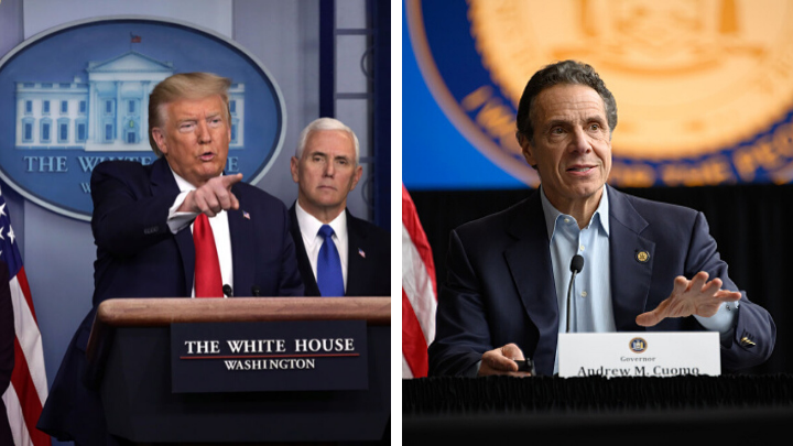 A Tale of Two Leaders: Cuomo v Trump