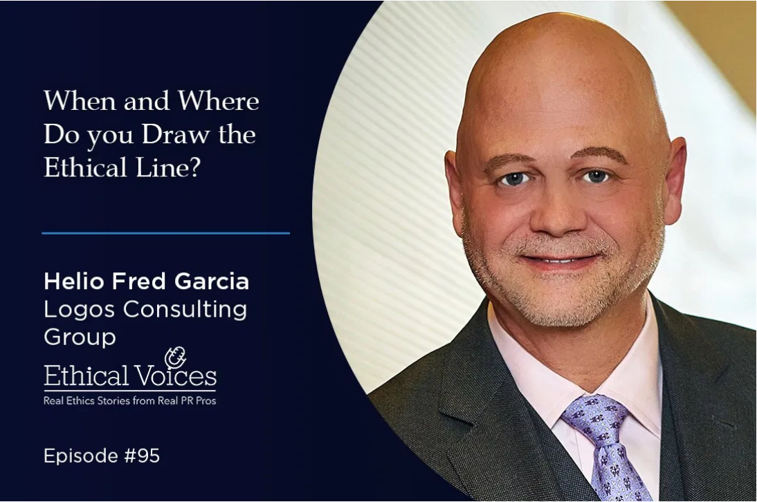 LOGOS IN  THE NEWS: Helio Fred Garcia Interview on Ethical Voices